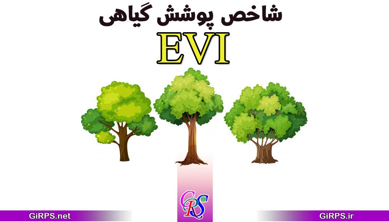 آموزش محاسبه شاخص EVI پوشش گیاهی در ENVI