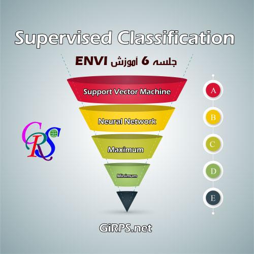 طبقه بندی تصاویر ماهواره ای در ENVI   جلسه ششم آموزش جامع ENVI