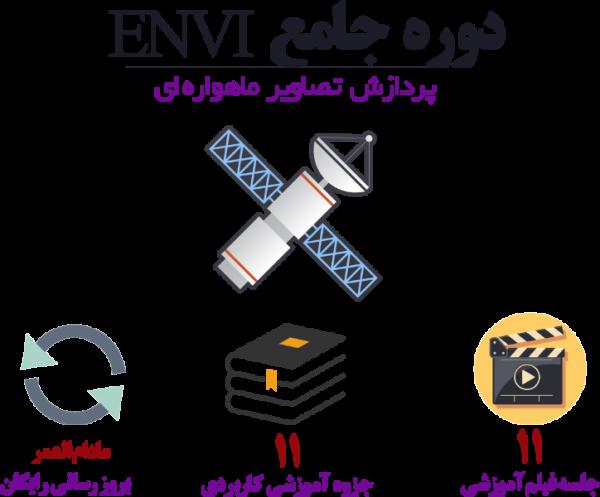 آموزش ENVI برای پردازش رقومی تصاویر ماهواره ای