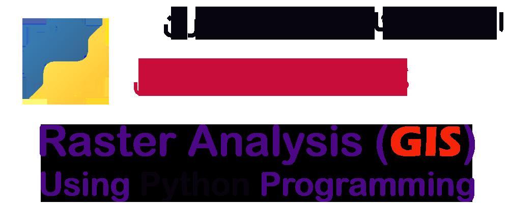 کارگاه آموزشی تحلیل داده های رستر در پایتون