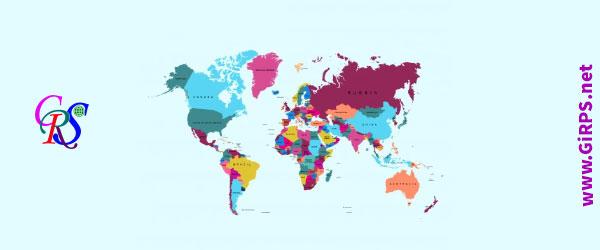 رنگ بندی نقشه های GIS