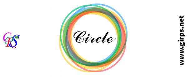ایجاد دایره در gis