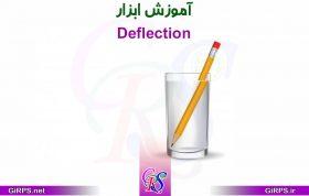 آموزش ابزار Deflection در GIS
