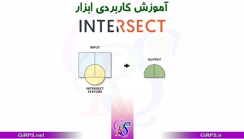 آموزش ابزار Intersect در ArcGIS