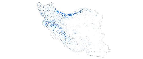 نقشه ایستگاه های هواشناسی ایران