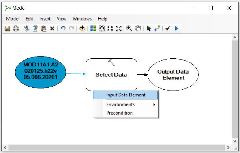 کاربرد ابزار Select Data در GIS