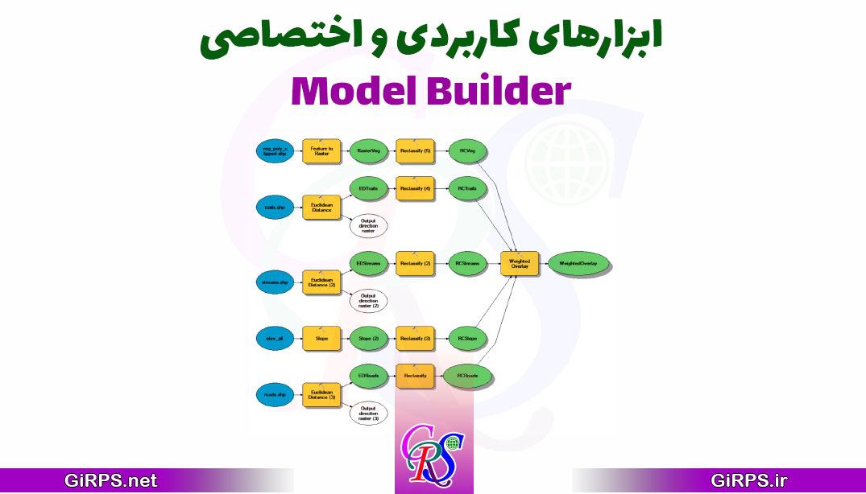 ابزارهای کاربردی و اختصاصی مدل بیلدر در ArcGIS