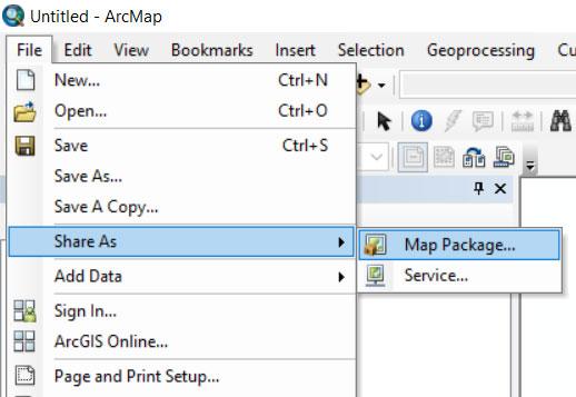 آموزش ساخت Map Package