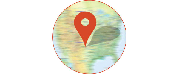اصلاح مختصات در GIS